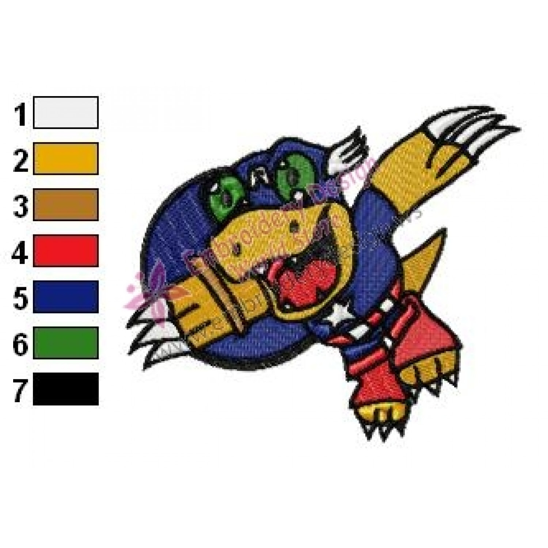 Teenage Mutant Ninja Turtles With Numbers 1 9 Machine Embroidery