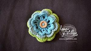 Video con Paso a Paso de flor tejida al crochet - Click para ver