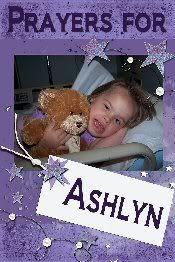 Pray for Ashlyn