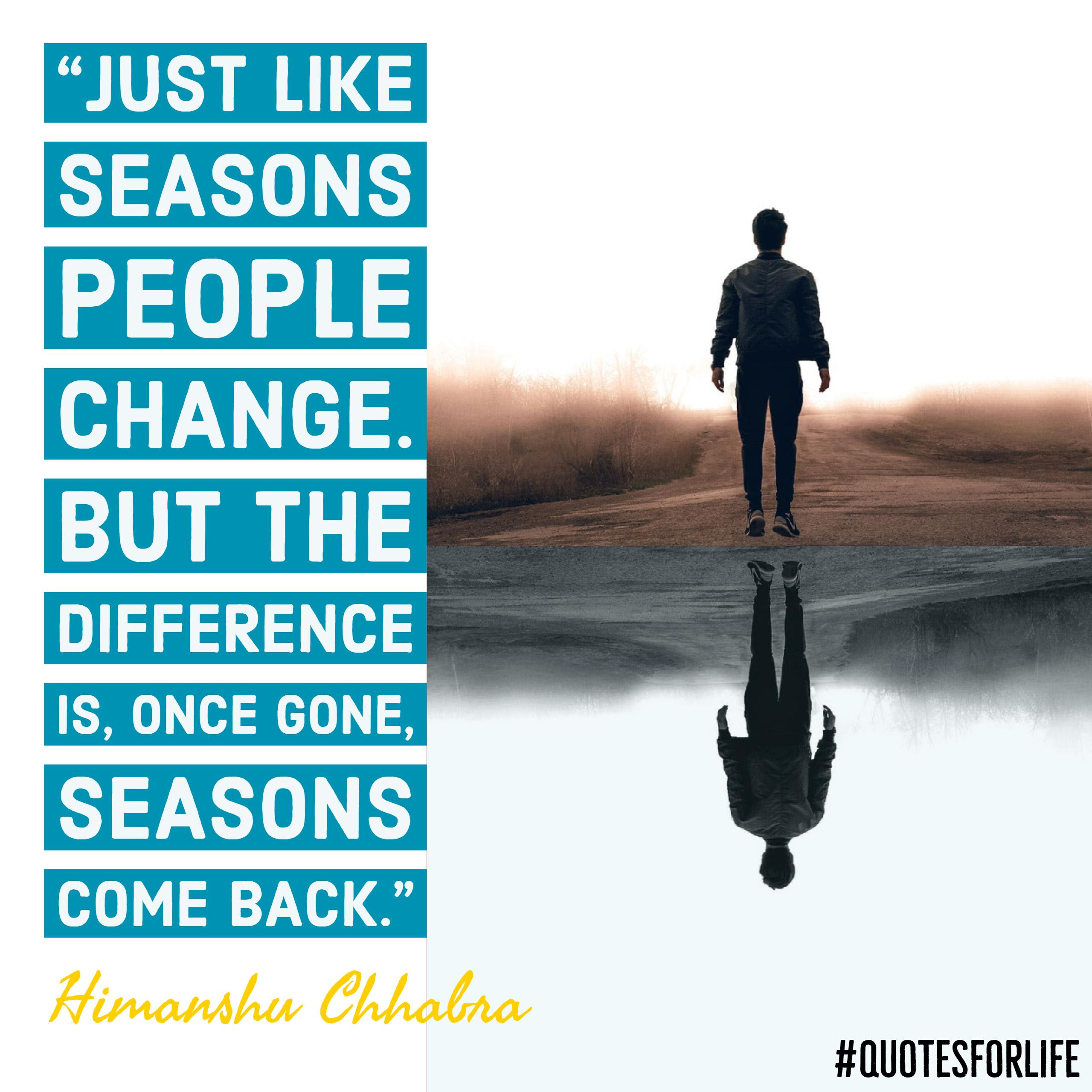 Seasons Quotes Quotes For Life
