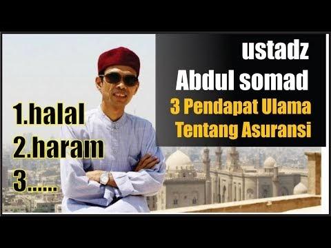3 Pendapat Ulama Tentang Asuransi -  Ustadz Abdul Somad