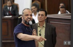 איש אחהס בבית משפט בקהיר