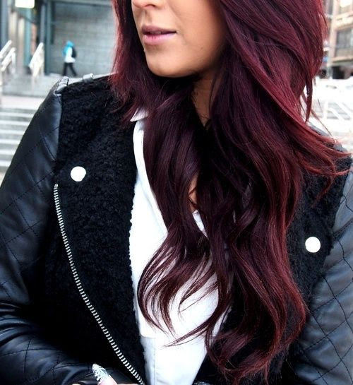 Purple Red Hair Color Tumblr - Red Hair Colors 14/14