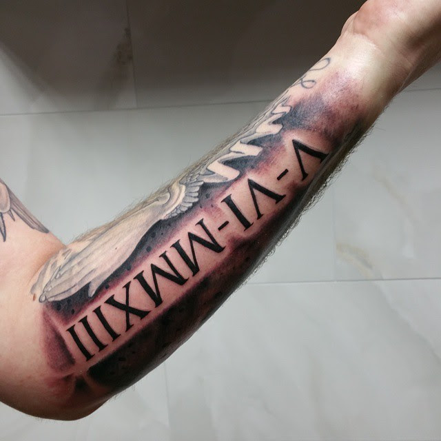 70 Best Roman Numeral Tattoo Designs Meanings Be Creative 2019