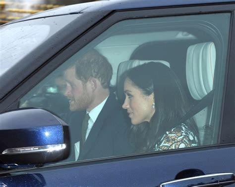 Meghan Markle Joins Fiancé Prince Harry for Royal Family