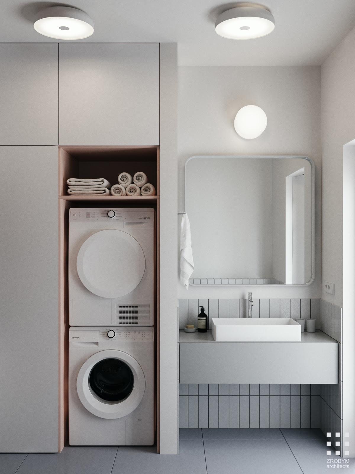 30 Modern Grey & White Bathrooms That Relax Mind Body & Soul