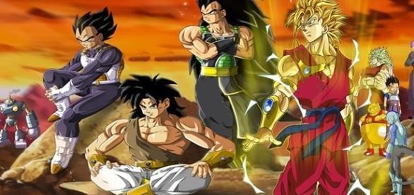 Resultado de imagen de dragon ball equipo de super saiyan