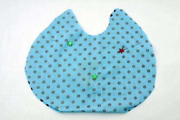 almofada coruja passo 3 Como Fazer Almofada de Coruja   Material e Passo a Passo