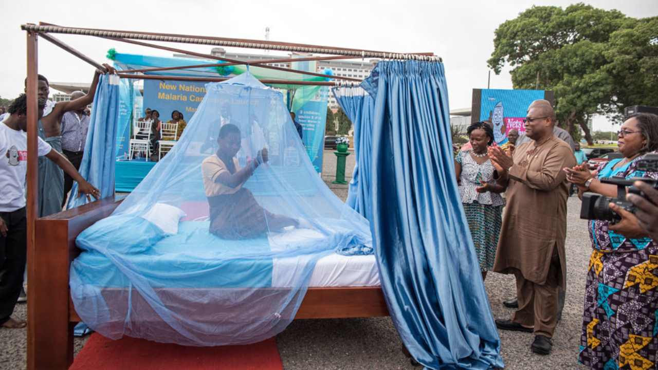 Progress in malaria control was among the reasons the WHO African region experienced the greatest increase in life expectancy since 2000 – by 9.4 years to 60 years. Image credit: UNICEF/Adenike Ademuyiwa
