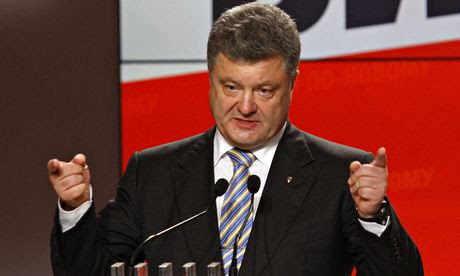 Presidente Petro Poroshenko prometeu acabar com o caos no leste da Ucrânia