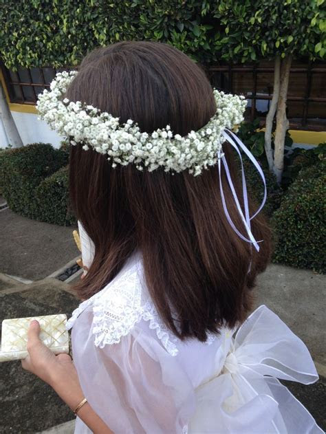 17 Best ideas about First Communion Hair on Pinterest