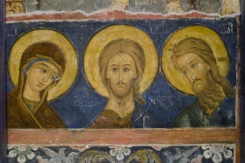 Ϋίδίδ.  Τοιχογραφία από τον καθεδρικό ναό της Γεννήσεως της Θεοτόκου της Σούζνταλ Κρεμλίνου.  Φωτογραφία: Anton Pospelov / Pravoslavie.Ru
