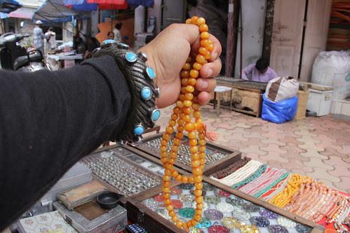 Amber Kerba Beads Bhendi Bazar by firoze shakir photographerno1