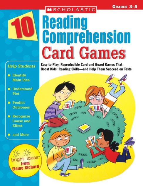 10 Reading Prehension Card Games Easy To Play