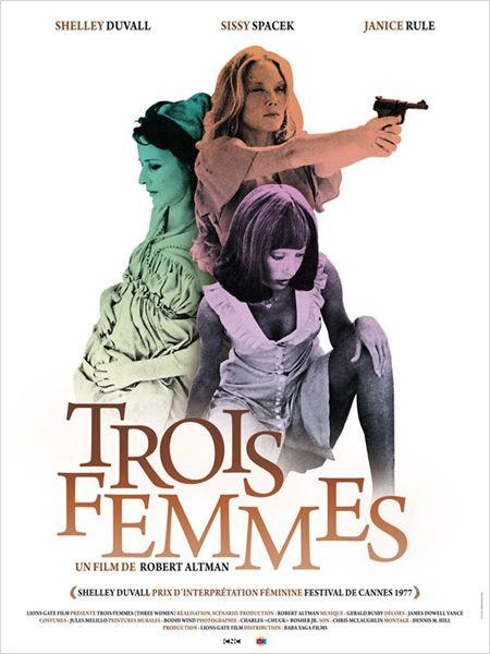 Trois femmes : affiche