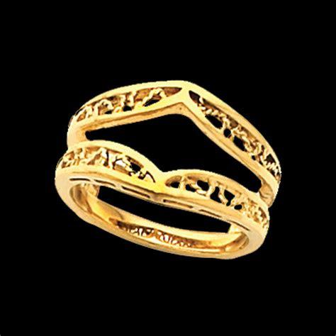 filigree design ring guard
