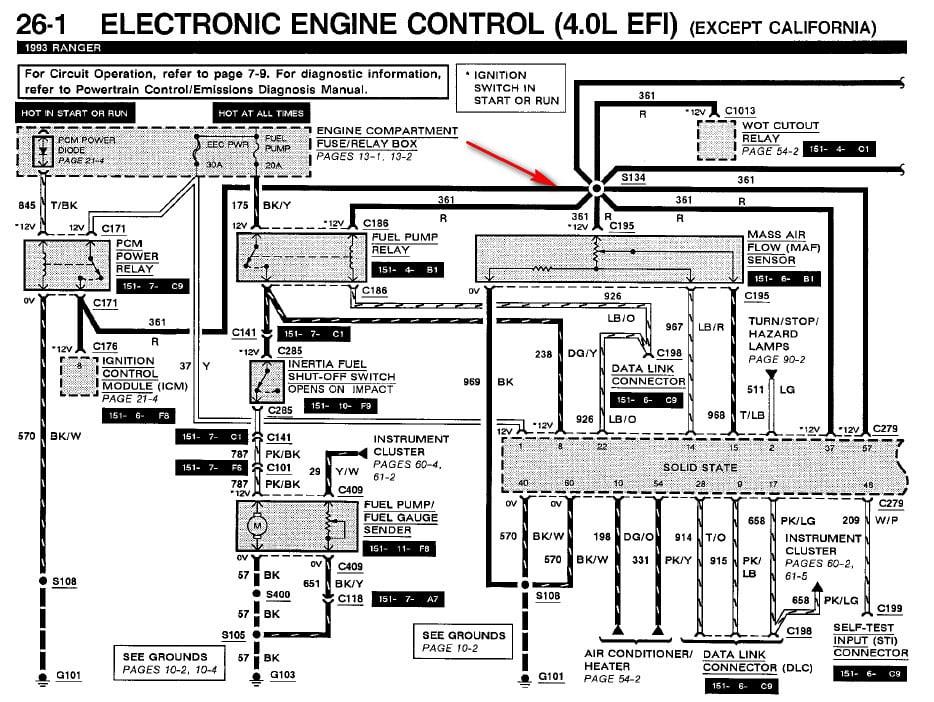 precision fuel pump wiring diagram ford ranger image 8