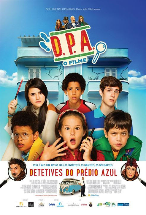 Detetives do Prédio Azul (D.P.A.) - O Filme : Poster