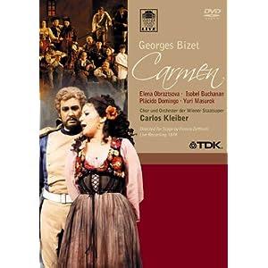 Bizet - Carmen / Obraztsova, Domingo, Mazurok, Buchanan, Rydl, Zednik, Kleiber, Vienna Opera