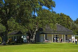 Waitangi House, Waitangi, Bay of Islands, Far ...