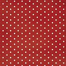 Red polka dots by MagentaStyle
