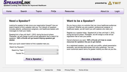 SpeakerLink welcome
