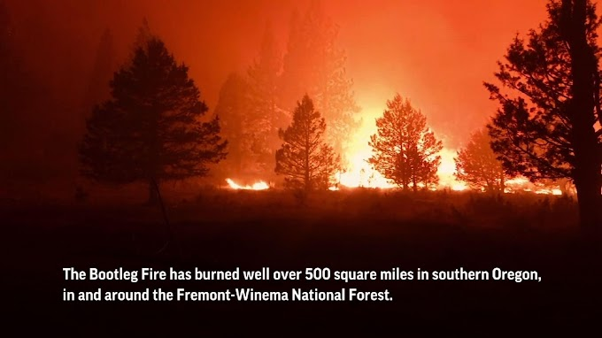 Western wildfires growing amid fire, wind and heat