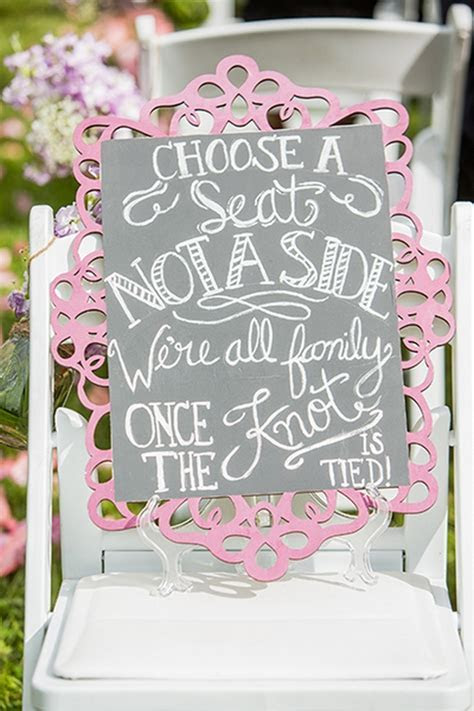 100 Clever Wedding Signs Your Guests Will Get A Kick Out