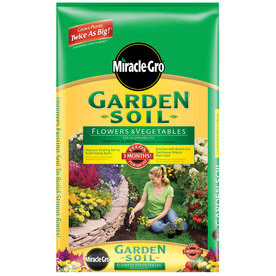 Miracle-Gro 1 Cu. Ft. Flowers and Vegetables Garden Soil