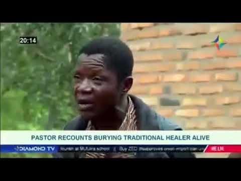 Vídeo: Como cavaron la tumba para enterrar vivo a un pastor que intentó resucitar como Jesus