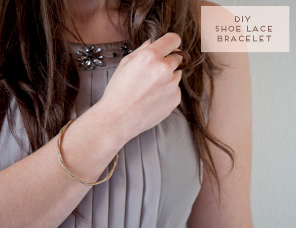 DIY Shoe Lace Bracelet