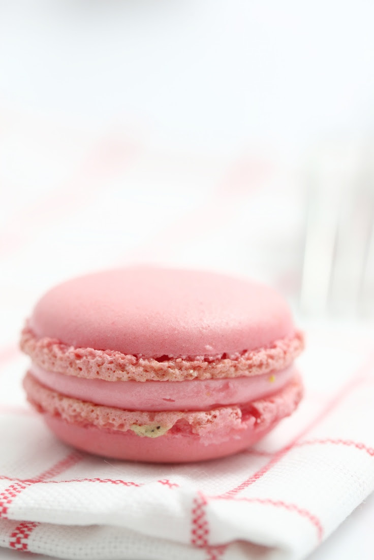 Pink Macarons Recipe by Chef David Burke