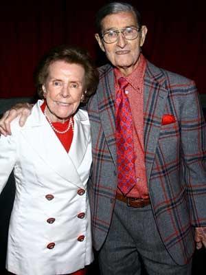 Eileen e seu marido, Jerry Ford, fundadores da agência de modelos, em foto de 2008. (Foto: Arquivo / Getty Images / Via AFP Photo)