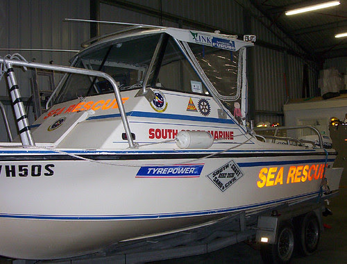 Stanley with Sea Rescue