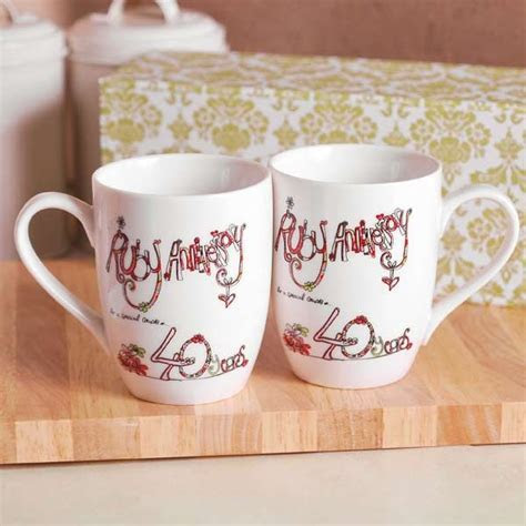 36 best 40th Anniversary Gifts PERSONALIZED images on