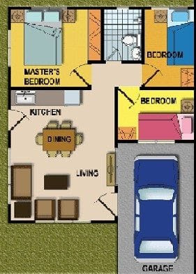 Awesome 3 Bedroom Bungalow House Plans In The Philippines ...