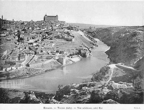 Vista de Toledo antes de 1887. Fotografía de L. Levy
