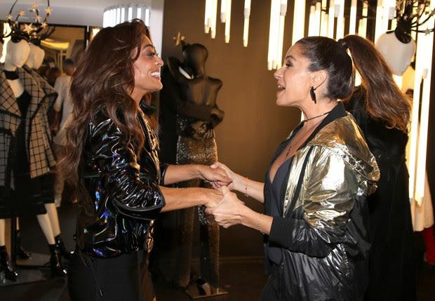 Juliana Paes e Giovanna Antonelli (Foto: Thiago Duran/AgNews)