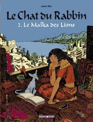 Couverture Le Chat du Rabbin, tome 2 : Le Malka des Lions
