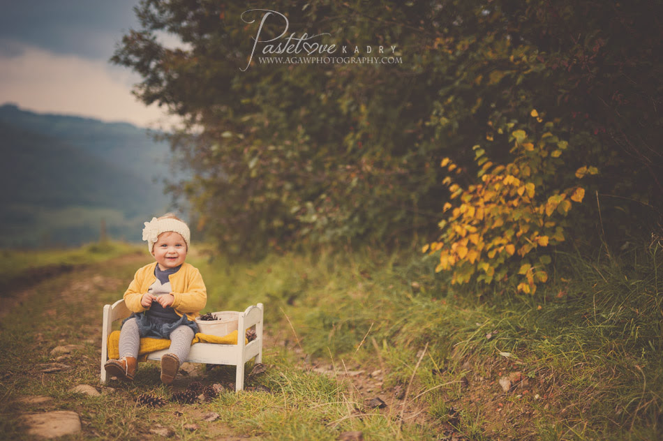 jesienna sesja w plenerze