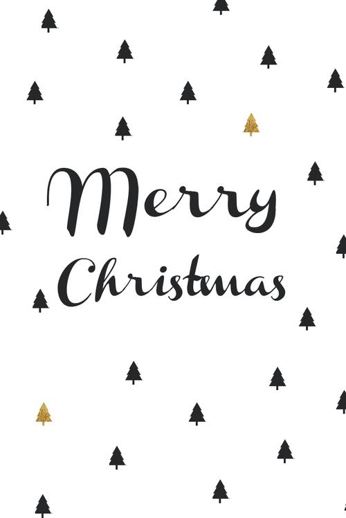 Merry Christmas Black And White Merry Christmas Clipart Black And