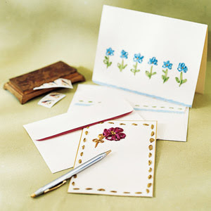 stitched stationary