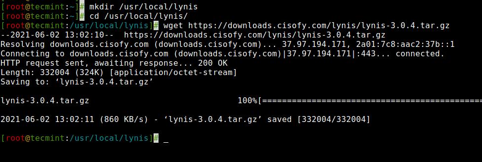 Download Lynis Linux Audit Tool