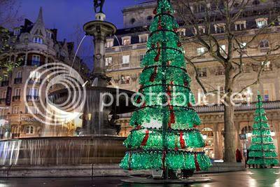 Fabrice Peltier's Used Plastic Bottles Christmas Tree 2