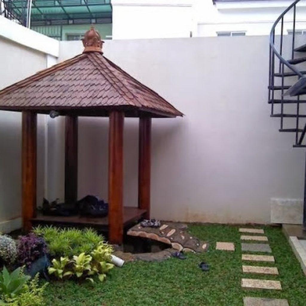 620+ Desain Taman Kolam Belakang Rumah Gratis