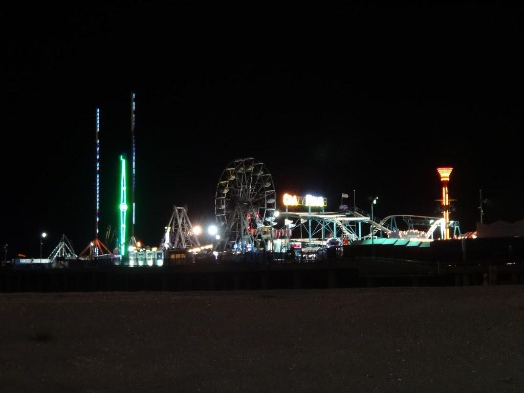 Steel Pier Atlantic City amusement park