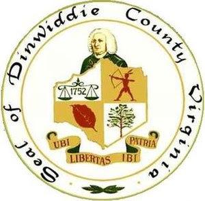 Seal of Dinwiddie County, Virginia