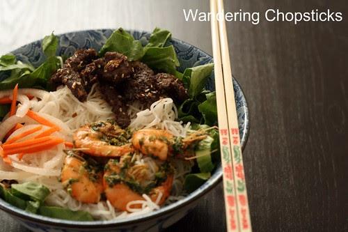 Tom Nuong Hanh Ngo (Vietnamese Grilled Shrimp with Scallion Cilantro Sauce) 2