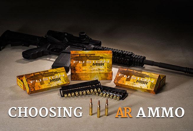 Shoot 101: Choosing AR Ammo