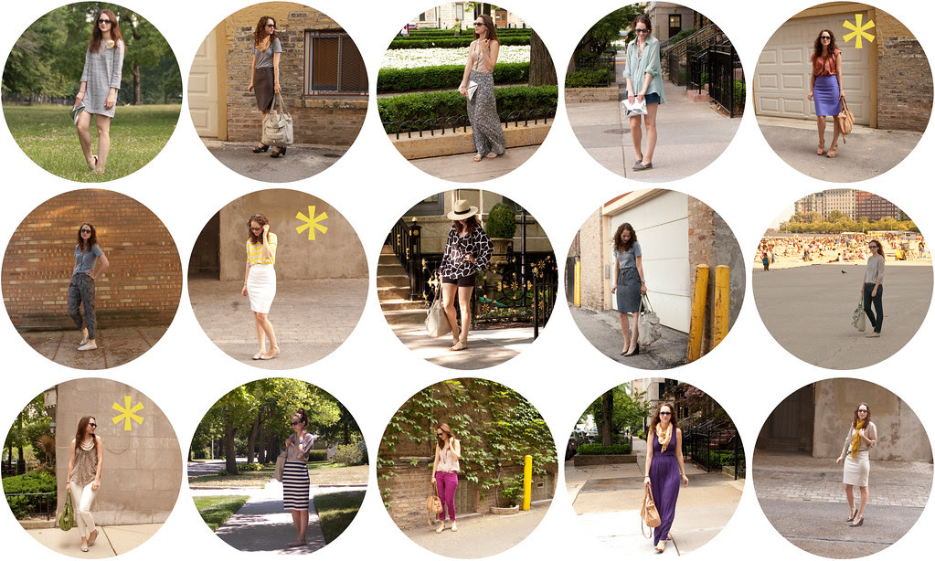 dash dot dotty, july outfits, a month of outfit photos, recap, ootd, outfit ideas
